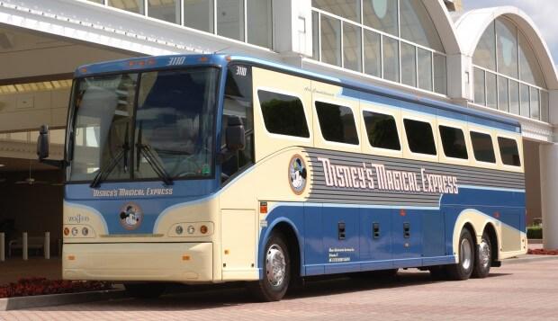 Ônibus Disney Magical Express em Orlando 2