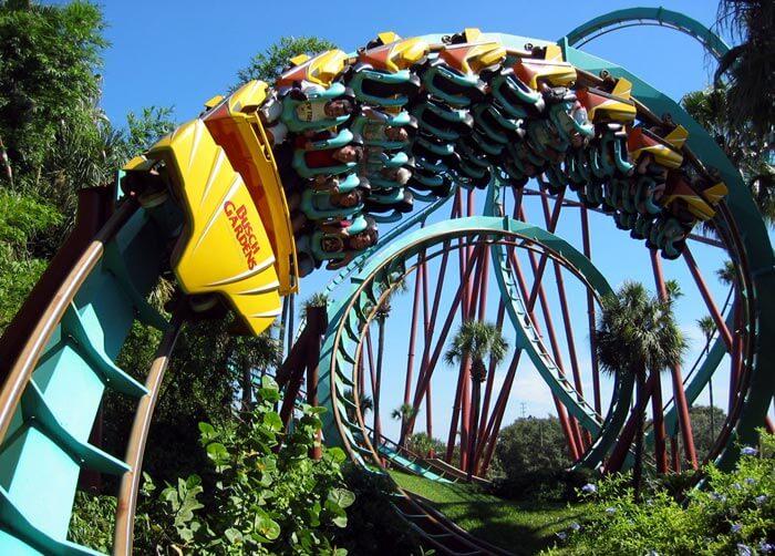 7 atrações e brinquedos do Parque Busch Gardens em Orlando: Kumba