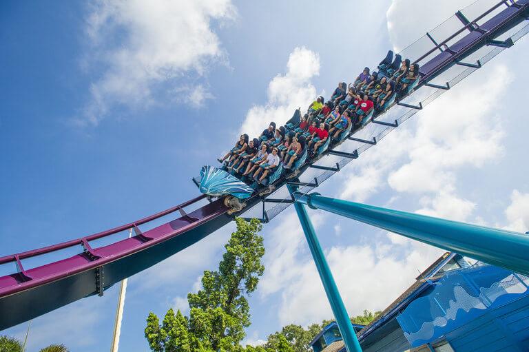 7 atrações e brinquedos do Parque Seaworld em Orlando 5