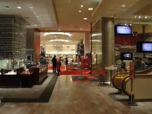 Lojas Neiman Marcus em Orlando: entrada da loja