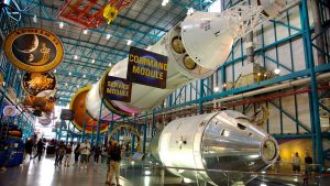 NASA Kennedy Space Center em Orlando: museu