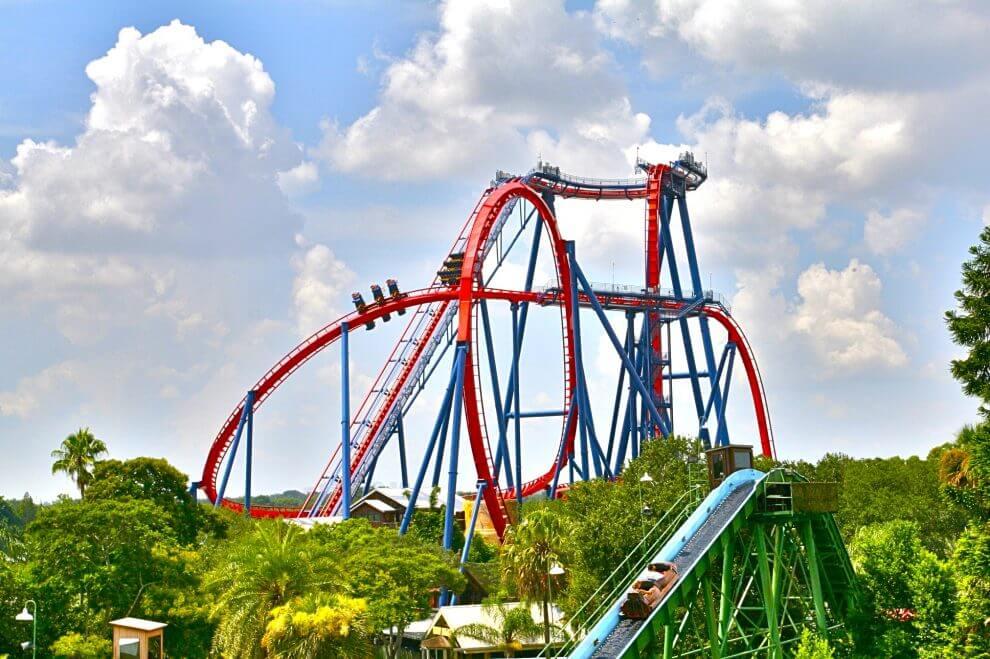 Parque Busch Gardens em Tampa: atrações