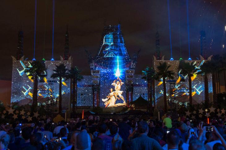 Shows do Star Wars no Disney Hollywood Studios 2