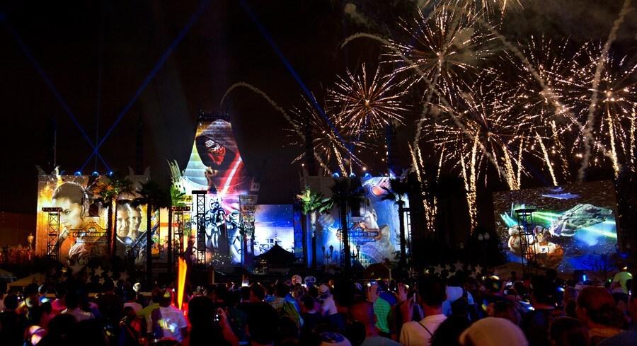 Melhores lugares para assistir aos shows da Disney Orlando: Star Wars: A Galactic Spectacular no Disney Hollywood Studios