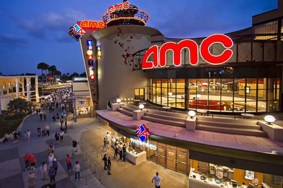 Disney Orlando para adultos: restaurante AMC Movies na Disney Springs