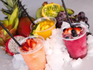Restaurantes do parque Busch Gardens em Orlando: Lynx Frozen Treats