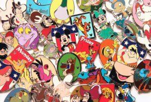 Itens colecionáveis da Disney em Orlando: pins ou broches Disney