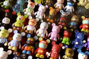 Itens colecionáveis da Disney em Orlando: Vinylmation - bonequinhos da Disney