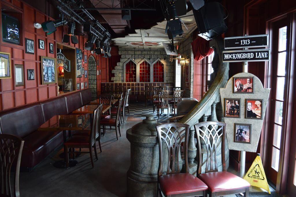 Restaurantes do parque Universal Studios em Orlando: restaurante Universal Studios' Classic MonstersCafe