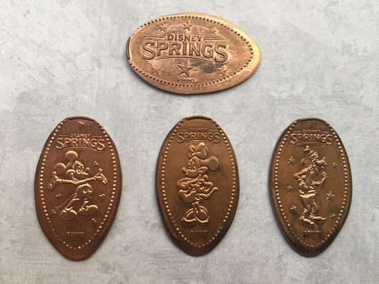Itens colecionáveis da Disney em Orlando: Pressed Coins da Disney