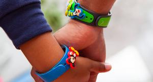 Itens colecionáveis da Disney em Orlando: pulseiras Magic Band