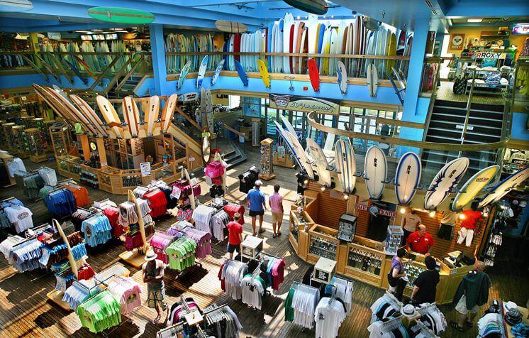 Compras em Cocoa Beach: Ron Jon Surf Shop