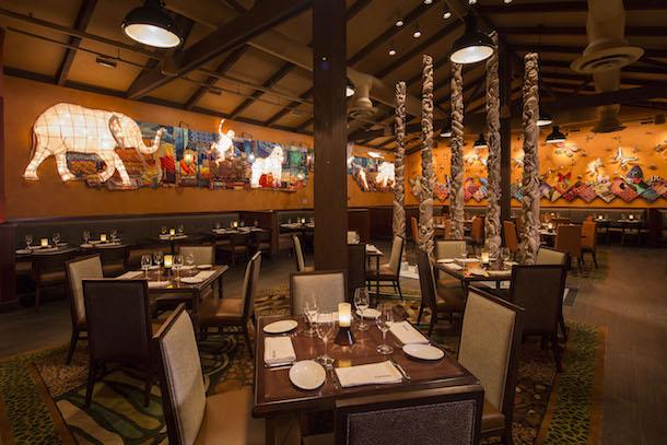 Restaurantes do parque Disney Animal Kingdom em Orlando: restaurante Tiffins