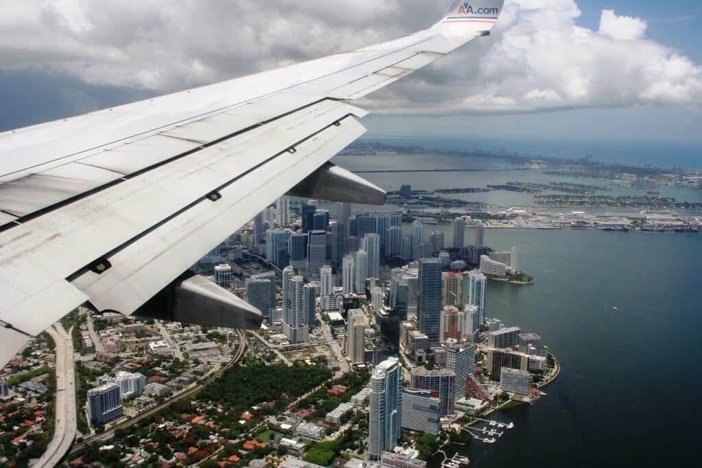 Viagem de avião de Orlando a Miami