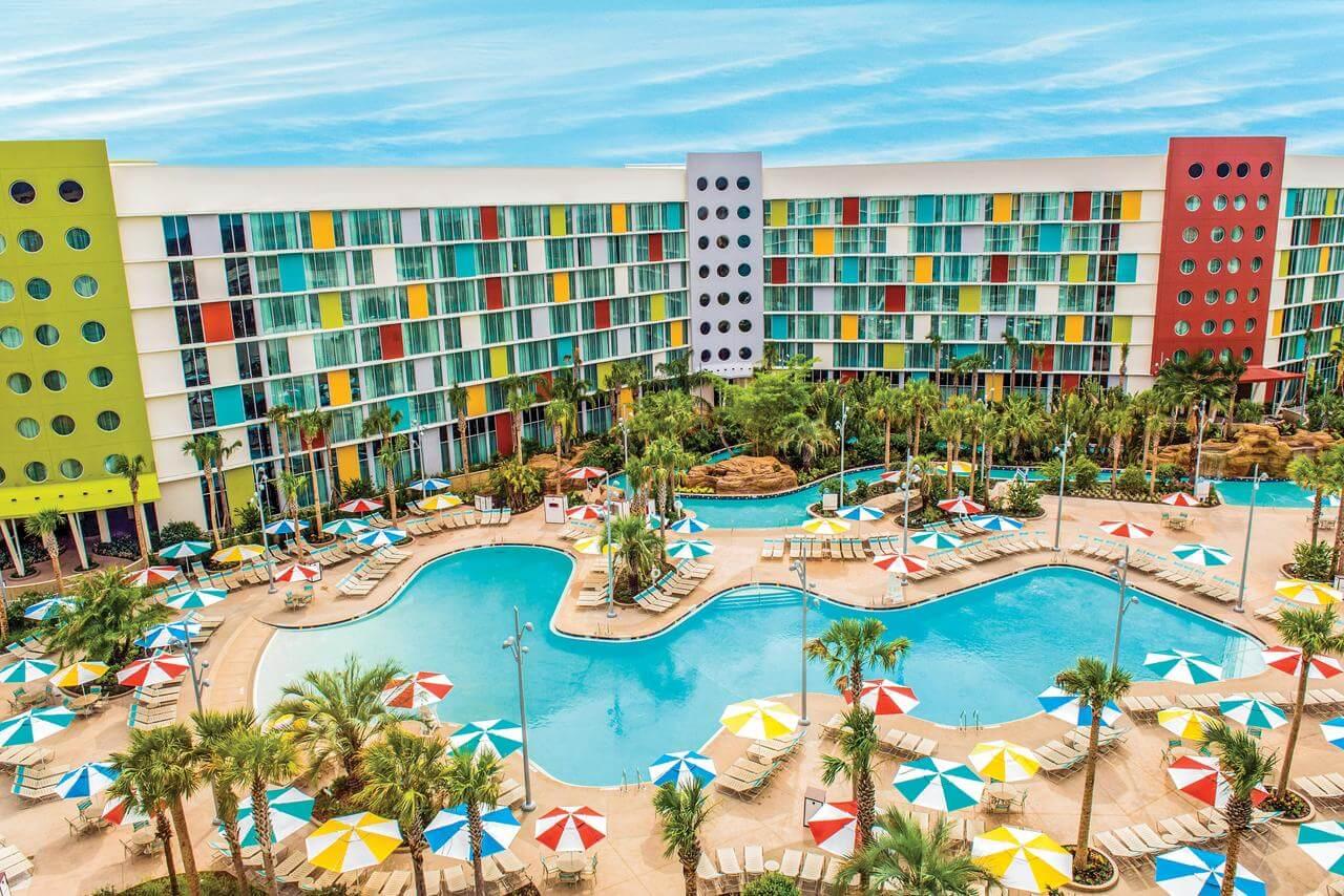 Reabertura dos parques da Universal em Orlando: Cabana Bay Beach Resort