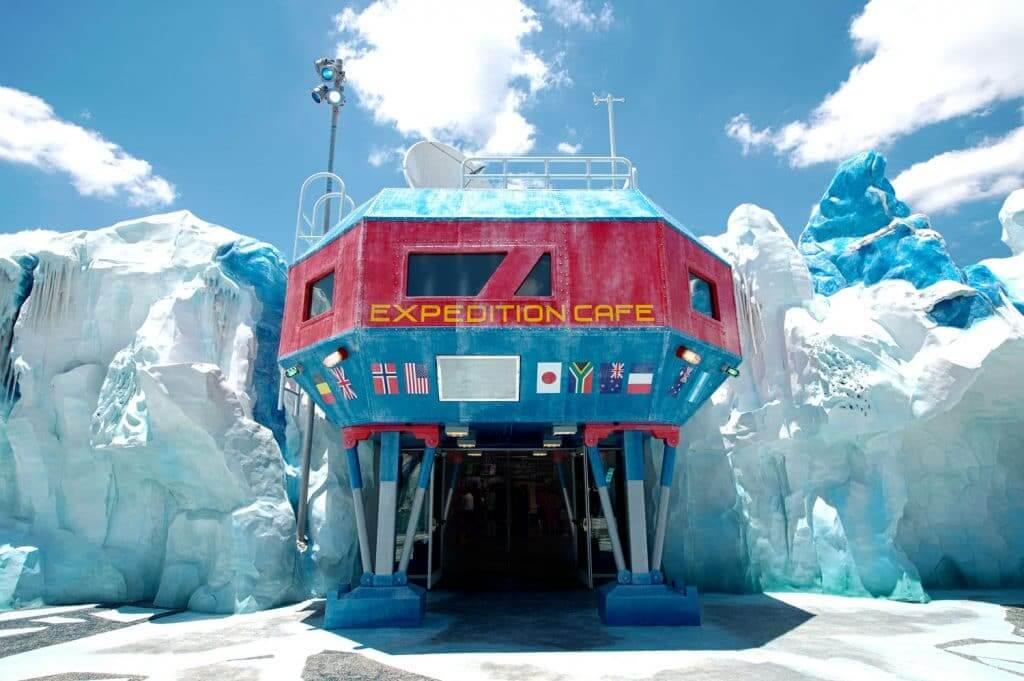 Restaurantes do parque SeaWorld em Orlando: Expedition Café