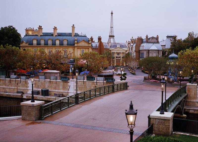 Pavilhão da França no parque Epcot da Disney Orlando