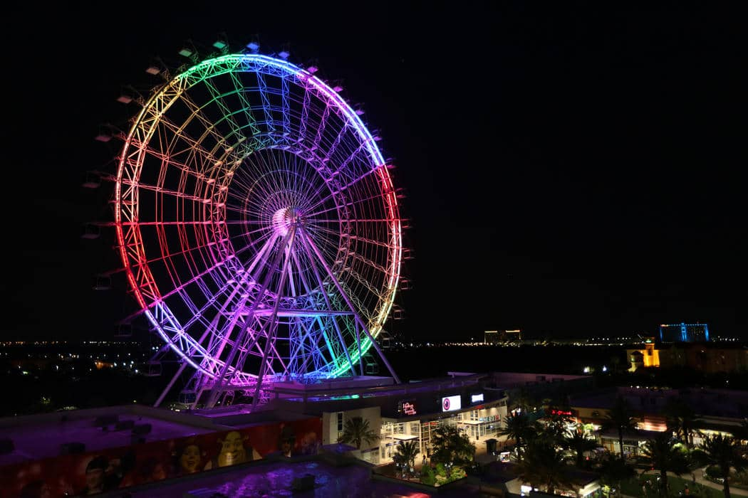 Roda-gigante Coca-Cola Orlando Eye no I-Drive 360