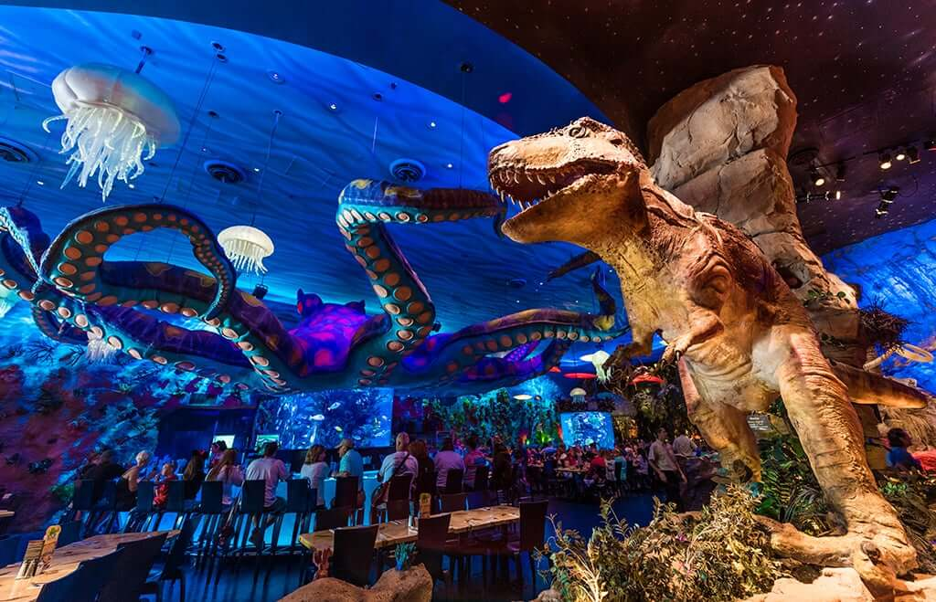 Restaurante T-Rex em Orlando 2