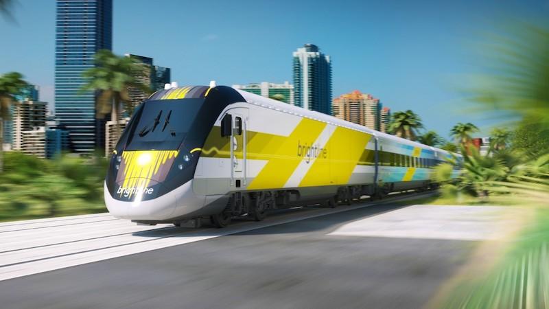 Viagem de trem de Orlando a Miami