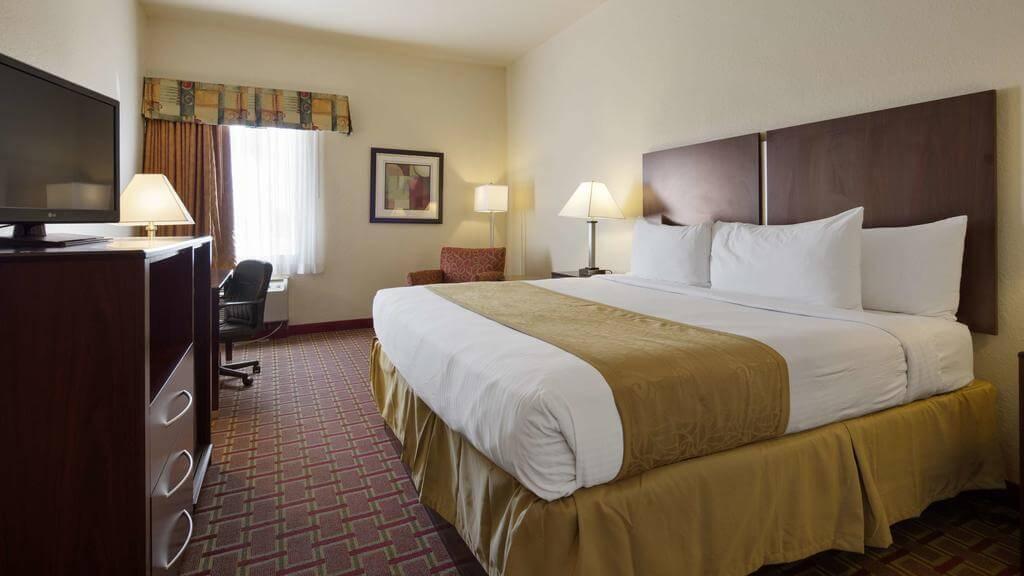 Hotéis bons e baratos em Tampa: Hotel Best Western - quarto