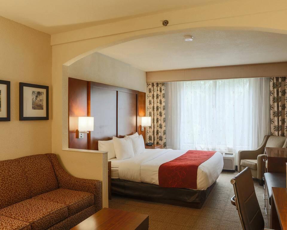 Dicas de hotel em Miami: Hotel Comfort Suites Miami - quarto