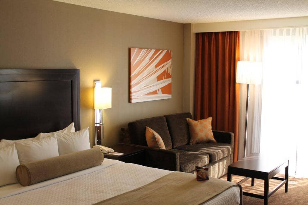 Dicas de hotéis em Miami: Hotel Crowne Plaza Miami Airport - quarto