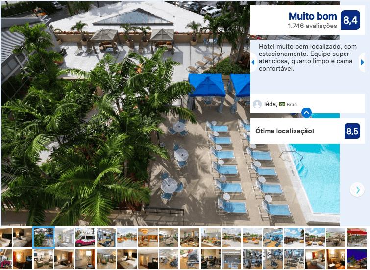 Dicas de hotéis em Miami: Hotel Crowne Plaza Miami Airport