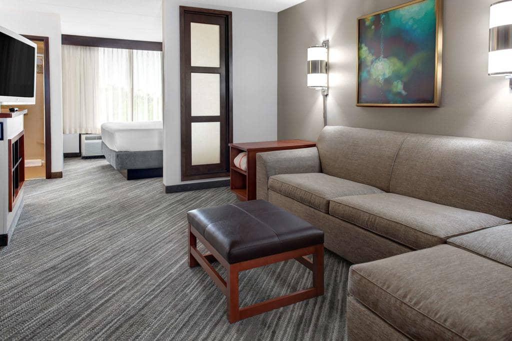 Hotéis bons e baratos em Tampa: Hotel Hyatt Place Tampa Busch Gardens - quarto