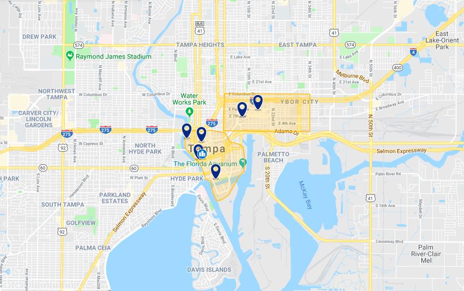 Onde ficar em Tampa: melhores hotéis