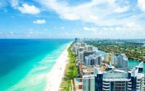 Pontos turísticos em Miami: praia