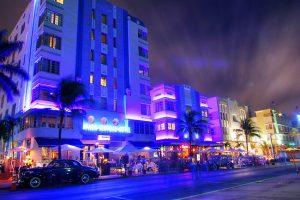 O que fazer à noite em Miami: Ocean Drive