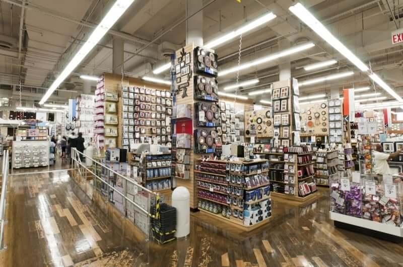 Lojas Bed Bath & Beyond em Orlando: interior da loja