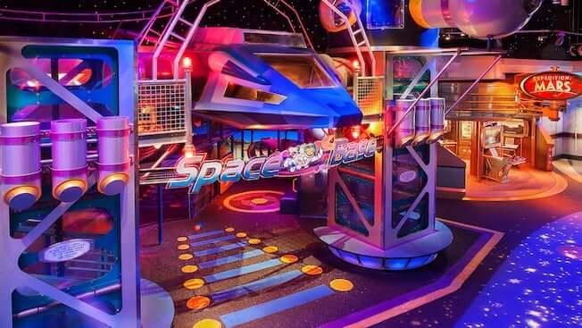 Área Future World do Disney Epcot em Orlando: Advanced Training Lab