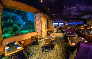 Área Future World do Disney Epcot em Orlando: restaurante Coral Reef