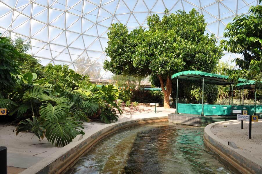 Living with the Land no parque Epcot da Disney Orlando