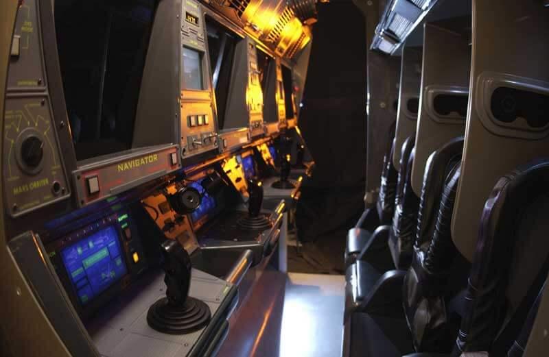 Área Future World do Disney Epcot em Orlando: Mission: SPACE