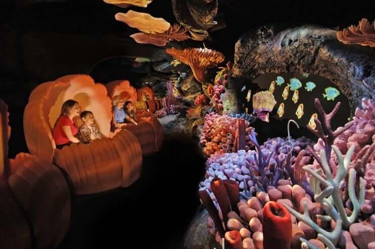 Área Future World do Disney Epcot em Orlando: The Seas with Nemo & Friends