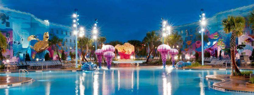 Hotéis perto da Disney em Orlando: hotel Disney's Art of Animation Resort