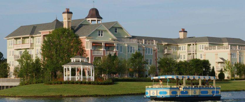 Hotéis bons para família em Orlando: hotéis da Disney - hotel Disney's Saratoga Springs