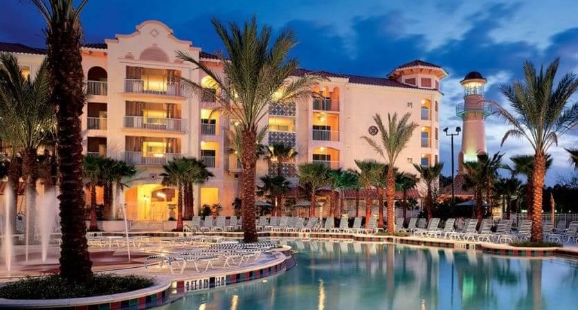 Hotéis bons para crianças em Orlando: HotelMarriott's Grande Vista