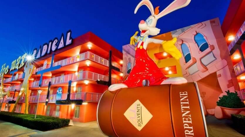 Hotéis mais baratos da Disney em Orlando: hotel Disney's Pop Century Resort