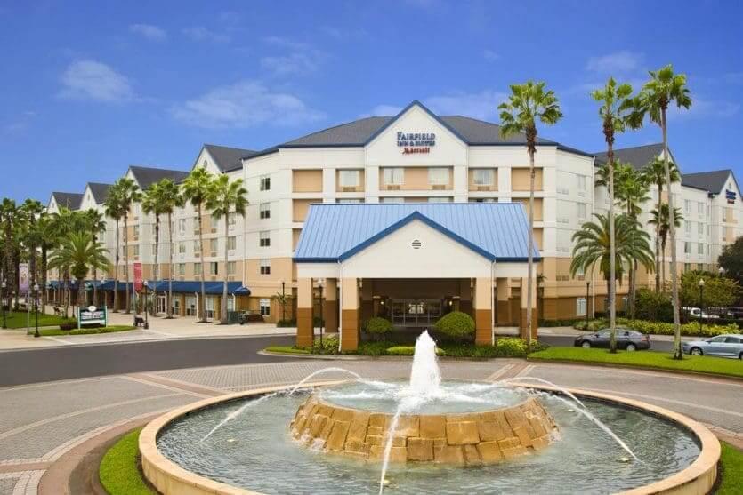 Hotéis mais procurados por brasileiros em Orlando: hotel Fairfield Inn & Suites by Marriott Orlando Lake Buena Vista
