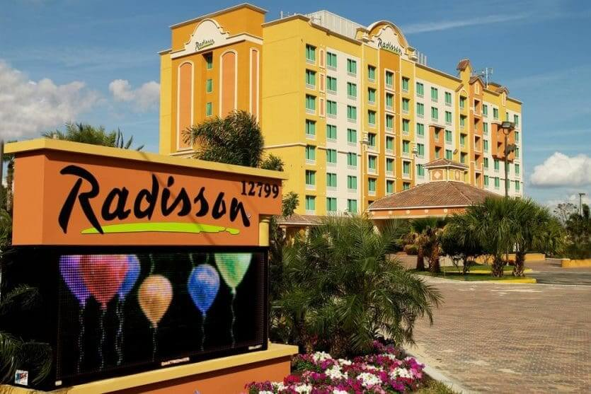Hotéis mais procurados por brasileiros em Orlando: hotel Radisson Hotel Orlando