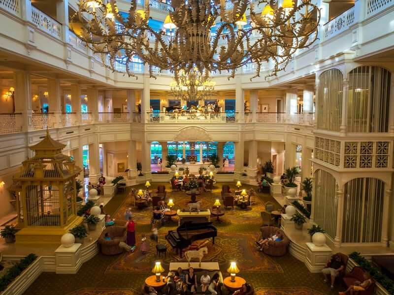 Disney's Grand Floridian Resort & Spa: saguão