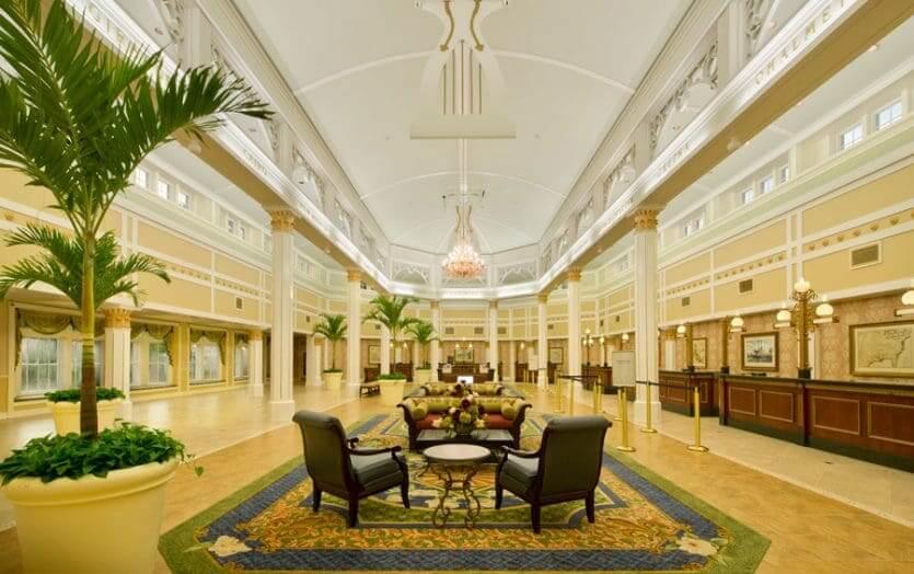 Disney's Port Orleans Resort - Riverside: lobby