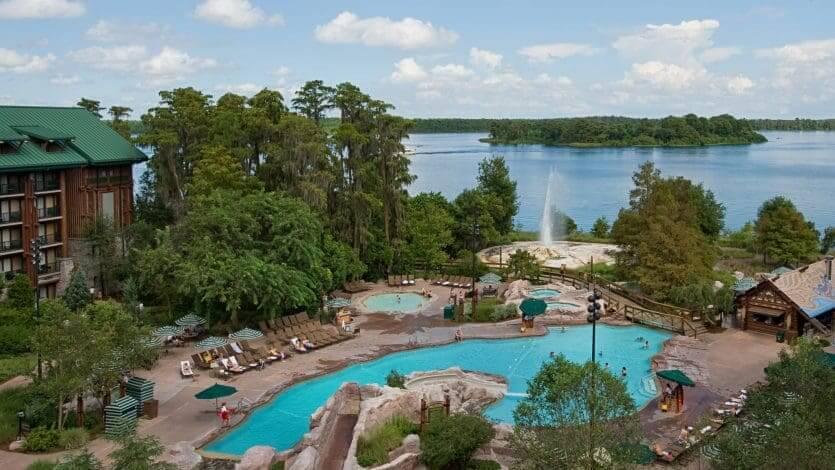 Disney's Wilderness Lodge: piscinas