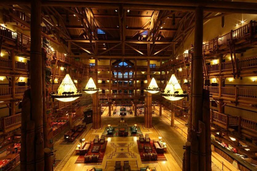 Disney's Wilderness Lodge por dentro