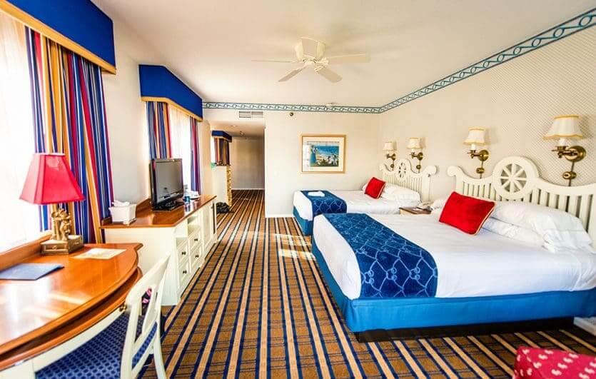 Disney's Yacht Club Resort: quarto