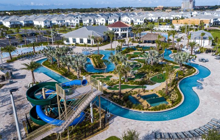 Condomínio de casas Storey Lake Resort em Orlando: piscina